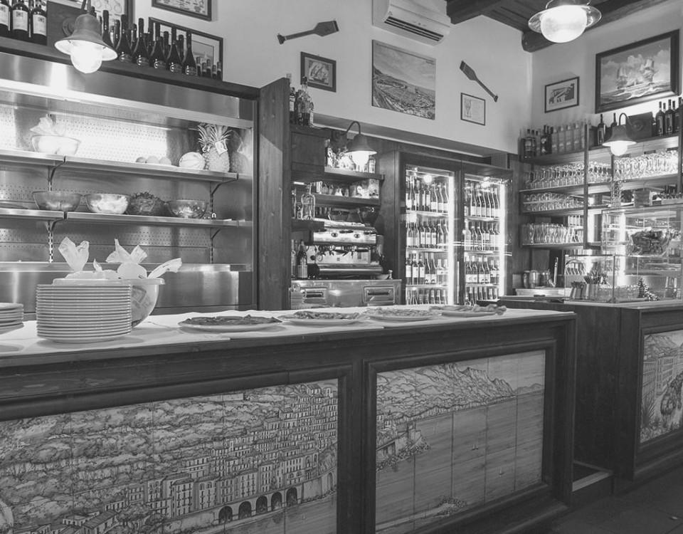 retail design salerno ristorante ponte vecchio